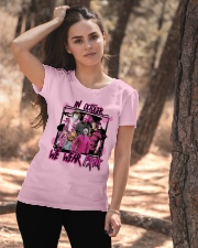 In October We Wear Pink Halloween Breast Cancer Ladies T-Shirt apparel-ladies-t-shirt-lifestyle-06