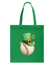 Baseball Leprechaun Irish Shamrock St Patrick's  Tote Bag front