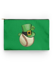 Baseball Leprechaun Irish Shamrock St Patrick's  Accessory Pouch tile