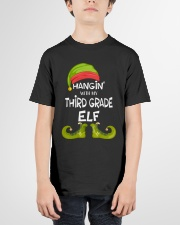Hanging With My Third Grade Elf Youth T-Shirt garment-youth-tshirt-front-01