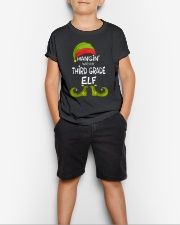 Hanging With My Third Grade Elf Youth T-Shirt lifestyle-youth-tshirt-front-1