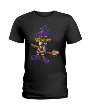 I'm The Mother Witch Halloween Costume Lovers Ladies T-Shirt front