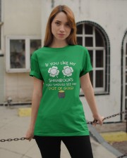 If You Like My Shamrocks - Unisex Shirt Classic T-Shirt apparel-classic-tshirt-lifestyle-19
