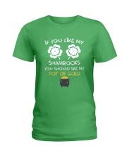 If You Like My Shamrocks - Unisex Shirt Ladies T-Shirt thumbnail