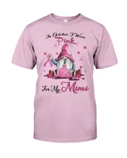 In October I Wear Pink For My Mimi Classic T-Shirt thumbnail