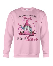 In October I Wear Pink For My Cool Sister Crewneck Sweatshirt tile