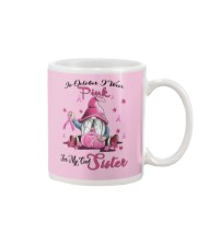 In October I Wear Pink For My Cool Sister Mug tile