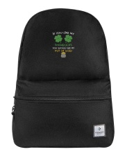 If You Like My Shamrocks St Patrick's Day Backpack thumbnail
