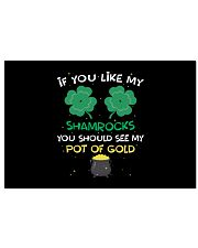 If You Like My Shamrocks St Patrick's Day 24x16 Poster thumbnail