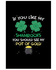 If You Like My Shamrocks St Patrick's Day 11x17 Poster thumbnail
