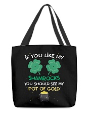 If You Like My Shamrocks St Patrick's Day All-over Tote thumbnail