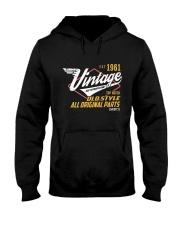 Vintage 1961 Age To Perfection Original Parts Hooded Sweatshirt thumbnail