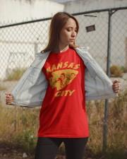 Kansas City Football Team Fans Classic T-Shirt apparel-classic-tshirt-lifestyle-07