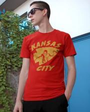 Kansas City Football Team Fans Classic T-Shirt apparel-classic-tshirt-lifestyle-17