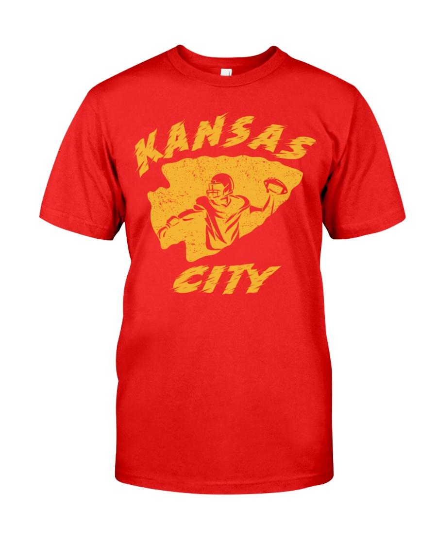 Kansas City Football Team Fans Classic T-Shirt