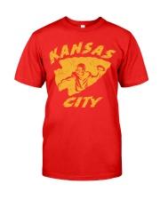 Kansas City Football Team Fans Classic T-Shirt front