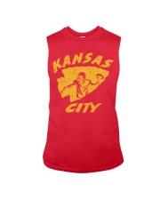 Kansas City Football Team Fans Sleeveless Tee thumbnail
