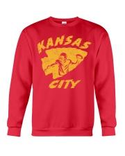 Kansas City Football Team Fans Crewneck Sweatshirt thumbnail