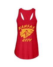Kansas City Football Team Fans Ladies Flowy Tank thumbnail