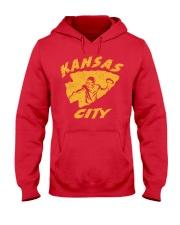 Kansas City Football Team Fans Hooded Sweatshirt thumbnail