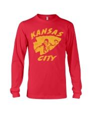 Kansas City Football Team Fans Long Sleeve Tee thumbnail