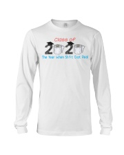 Class Of 2020 Graduate The Year When Shit Got Real Long Sleeve Tee thumbnail