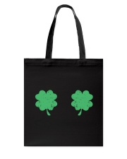 Vintage Irish Shamrock Boobs St Patrick's Day Tote Bag thumbnail