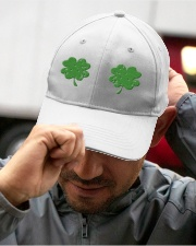 Vintage Irish Shamrock Boobs St Patrick's Day Embroidered Hat garment-embroidery-hat-lifestyle-01