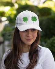 Vintage Irish Shamrock Boobs St Patrick's Day Embroidered Hat garment-embroidery-hat-lifestyle-07