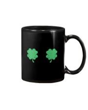 Vintage Irish Shamrock Boobs St Patrick's Day Mug thumbnail