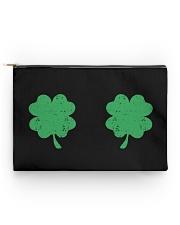 Vintage Irish Shamrock Boobs St Patrick's Day Accessory Pouch - Standard thumbnail