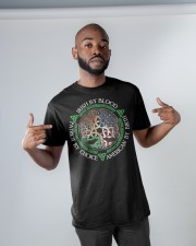 Irish By Blood American By Birth Patriot By Choice Classic T-Shirt apparel-classic-tshirt-lifestyle-front-32