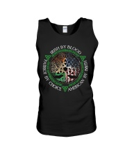 Irish By Blood American By Birth Patriot By Choice Unisex Tank thumbnail