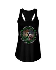 Irish By Blood American By Birth Patriot By Choice Ladies Flowy Tank thumbnail