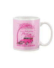 I Wear Pink For My Mom Breast Cancer Awareness  Mug thumbnail