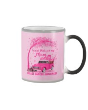 I Wear Pink For My Mom Breast Cancer Awareness  Color Changing Mug thumbnail