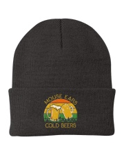 Mouse Ears And Cold Beers - Funny Beer Drinking  Knit Beanie thumbnail