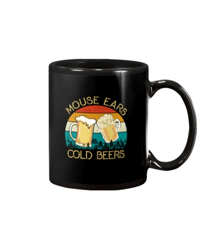 Mouse Ears And Cold Beers - Funny Beer Drinking