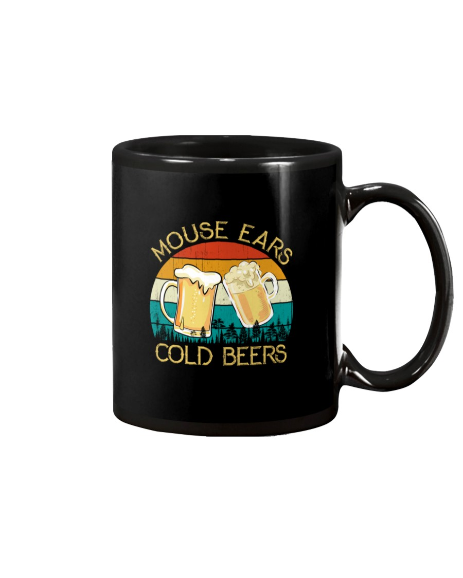 Mouse Ears And Cold Beers - Funny Beer Drinking  Mug