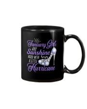 January Girls Are Sunshine Mixed With Hurricane Mug thumbnail