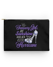 January Girls Are Sunshine Mixed With Hurricane Accessory Pouch - Standard thumbnail