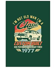 Classic Car - 43 Years Old Matching Birthday Tee  11x17 Poster thumbnail