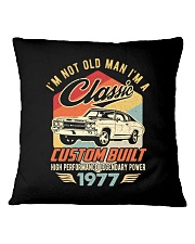 Classic Car - 43 Years Old Matching Birthday Tee  Square Pillowcase thumbnail
