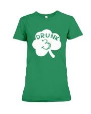 Feeling Drunk 3 Irish Shamrock St Patrick's Day  Premium Fit Ladies Tee thumbnail
