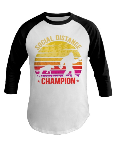Social Distance Champion Great Bigfoot