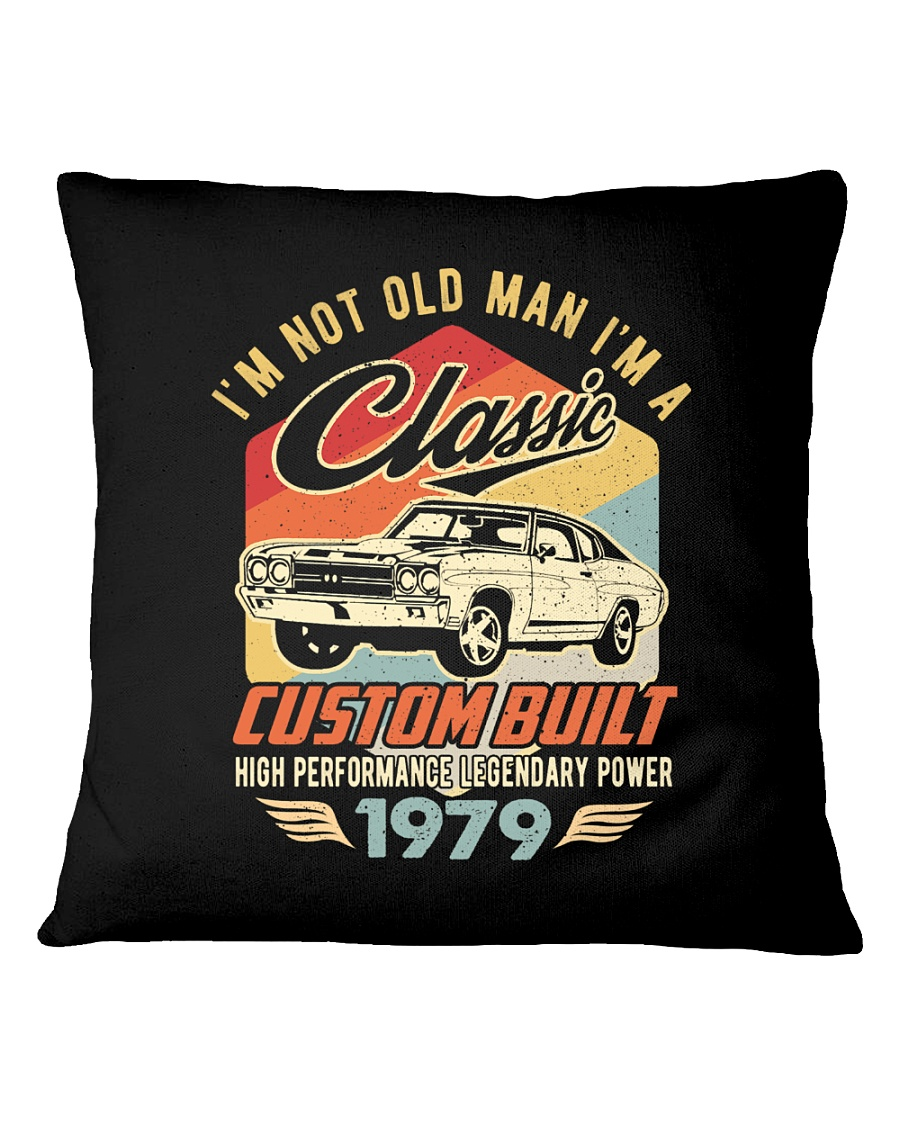 Classic Car - 41 Years Old Matching Birthday Tee  Square Pillowcase