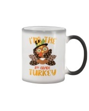 I'm The 8th Grade Turkey Thanksgiving Color Changing Mug tile