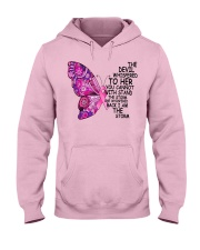 The Devil Whispered To Her You Cannot With Stand  Hooded Sweatshirt thumbnail