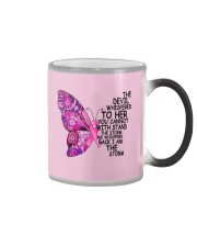 The Devil Whispered To Her You Cannot With Stand  Color Changing Mug thumbnail