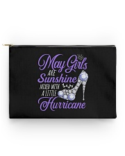 May Girls Are Sunshine Mixed With Hurricane Accessory Pouch - Standard thumbnail